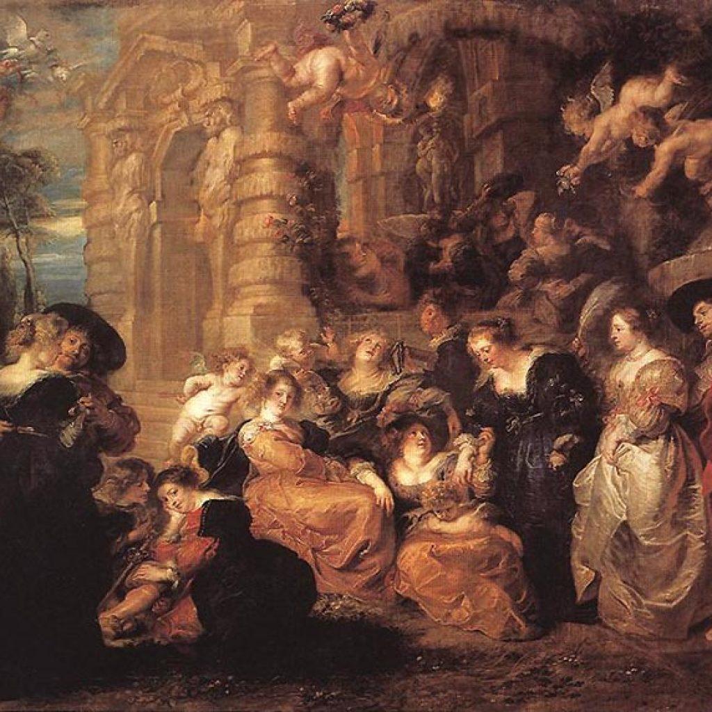 Jardin de l'amour - Rubens