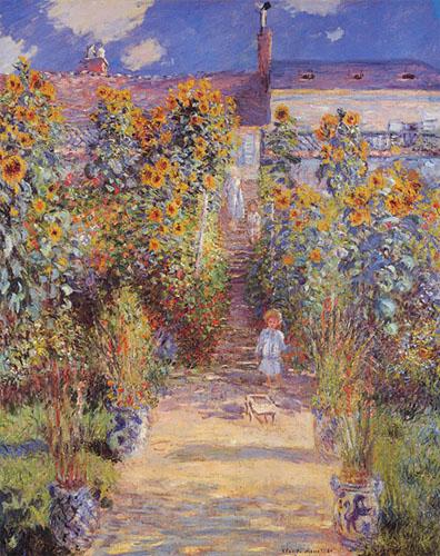 Jardin de l'artiste à Vertheuil - Monet