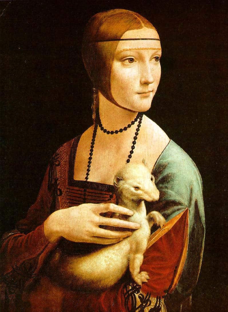 Jeune fille avec une hermine - De Vinci