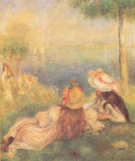 Jeunes filles au bord de la mer - Renoir