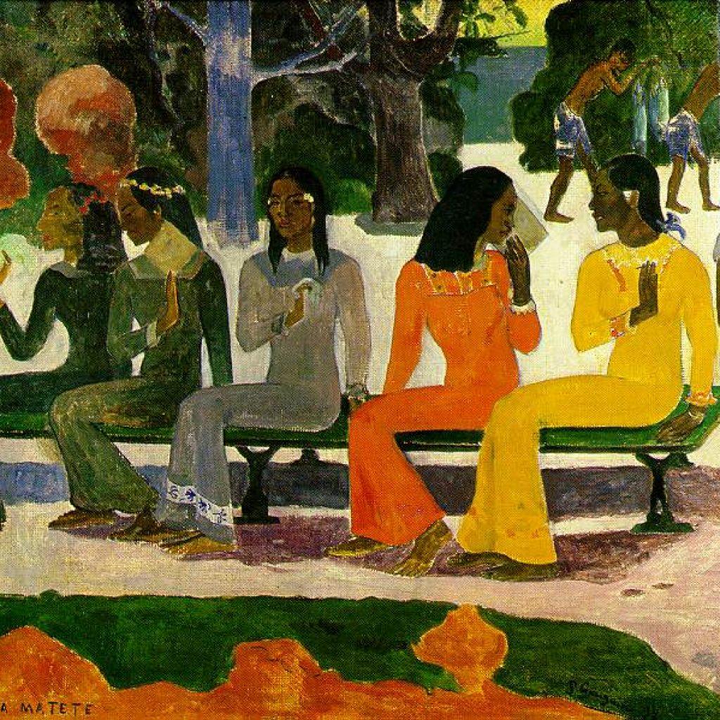 Jour de marché - Gauguin