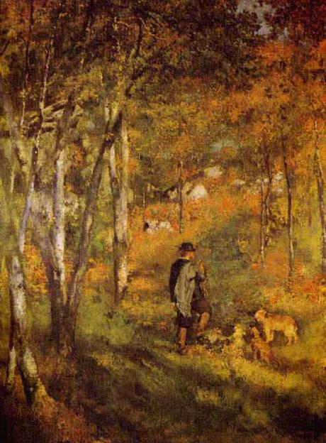 Jules le Coeur et ses chiens - Renoir