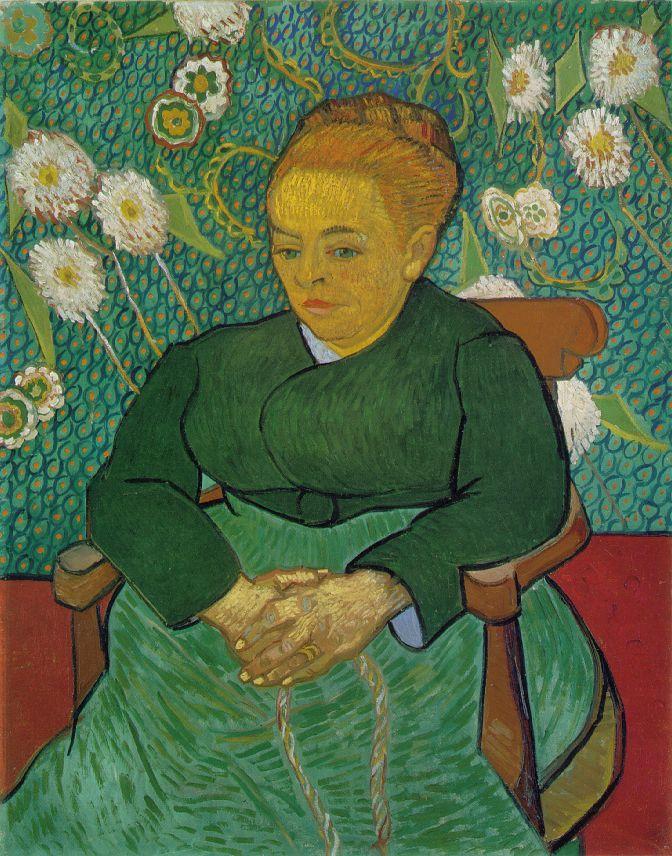 La Berceuse (Augustine Roulin) - Van Gogh