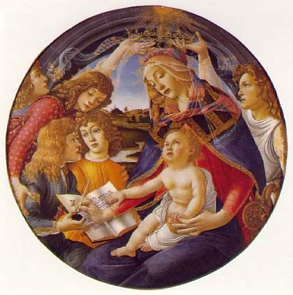 La Madone du Magnificat - Botticelli