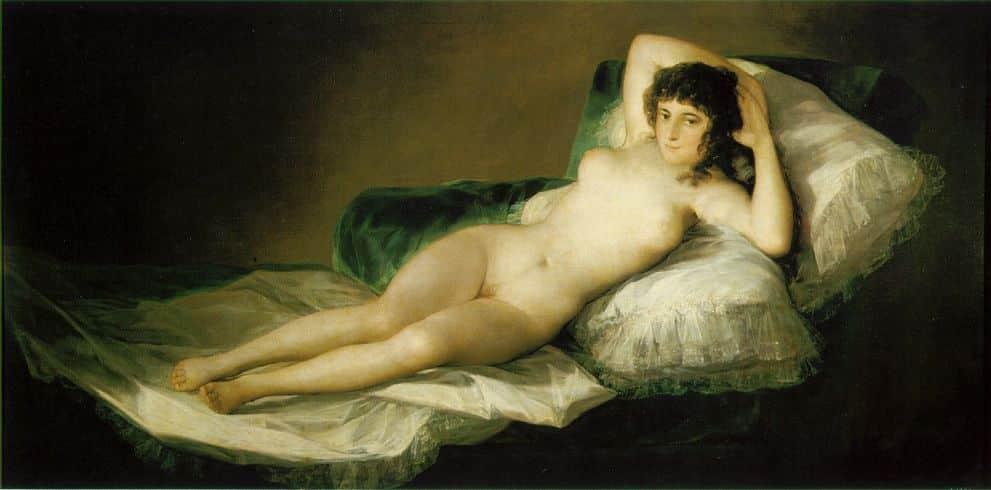 La Maja nue - Goya