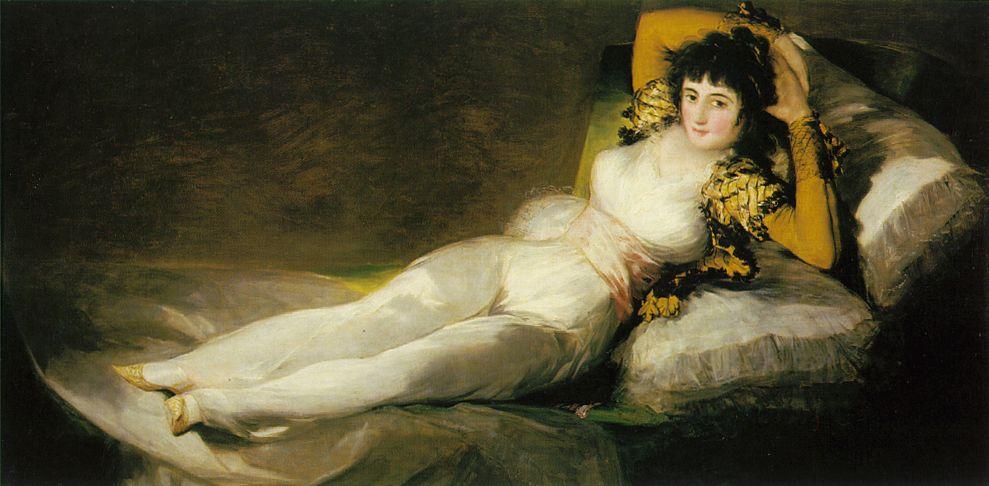 La Maja vêtue - Goya