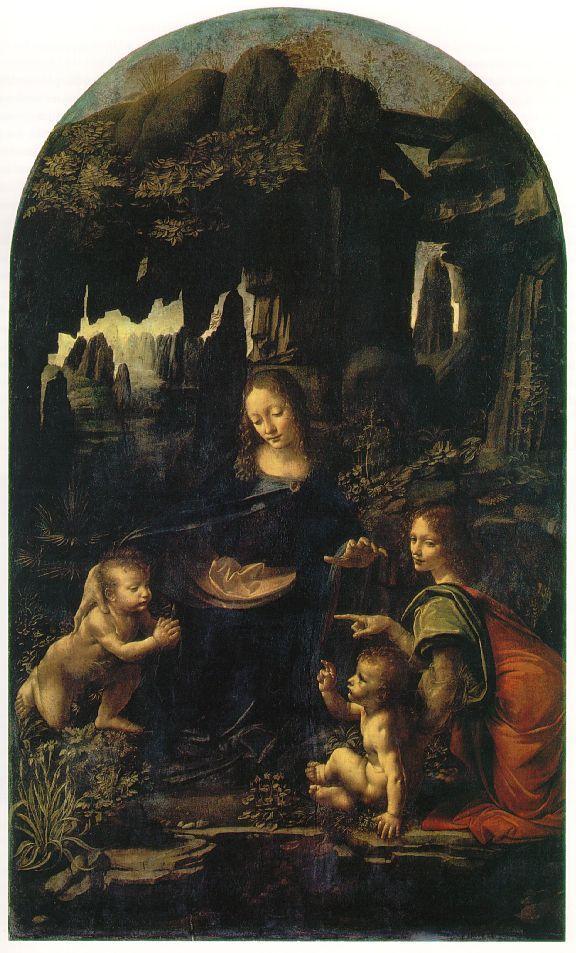 La Vierge aux rochers - De Vinci
