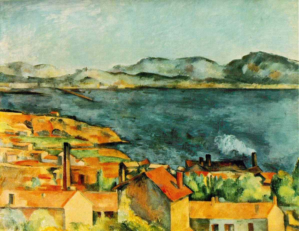 La baie de L'Estaque - Cézanne