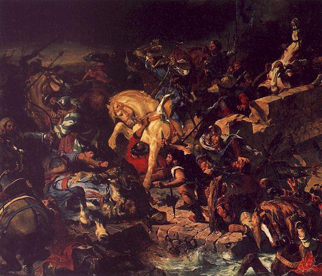 La bataille de Taillebourg - Delacroix