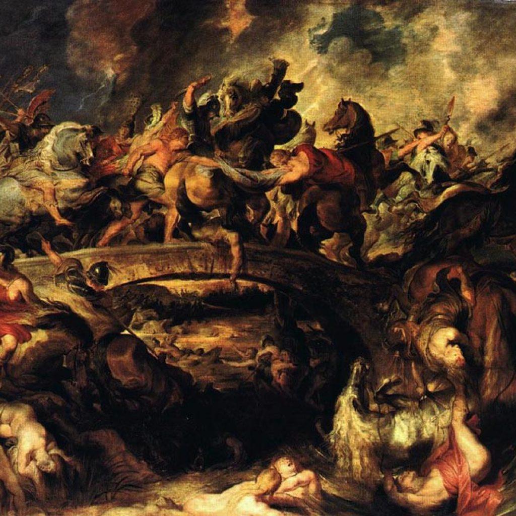 La bataille des Amazones - Rubens
