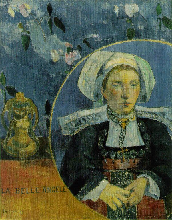 La belle Angèle - Gauguin