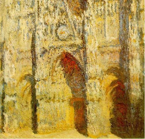 La cathédrale de Rouen - Monet
