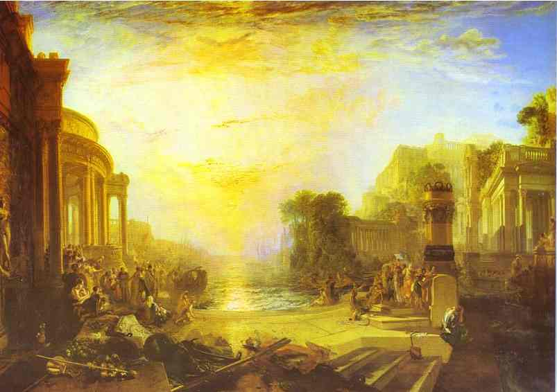 La chute de Carthage - Turner
