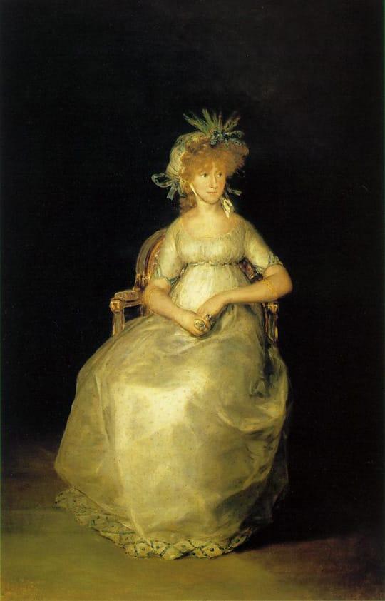 La comtesse de Chichòn - Goya