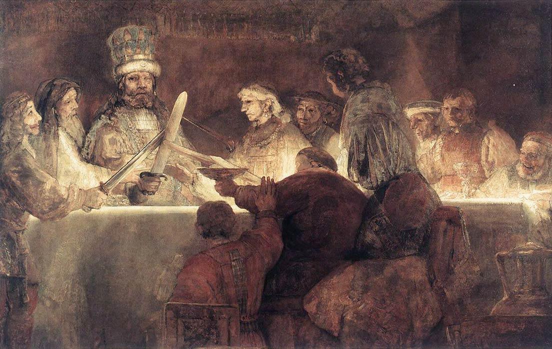 La conspiration des Bataves - Rembrandt
