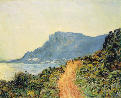La corniche de Monaco - Monet