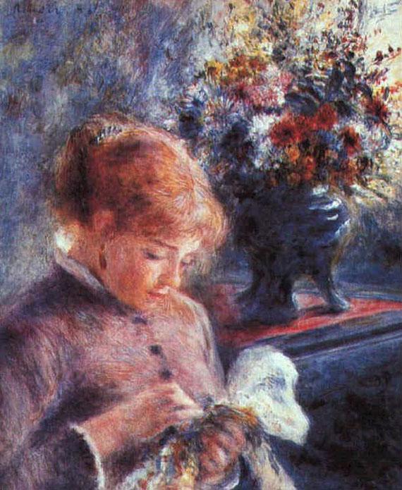 La couseuse - Renoir