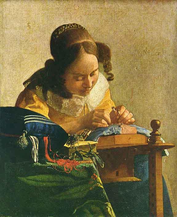 La dentellière - Vermeer