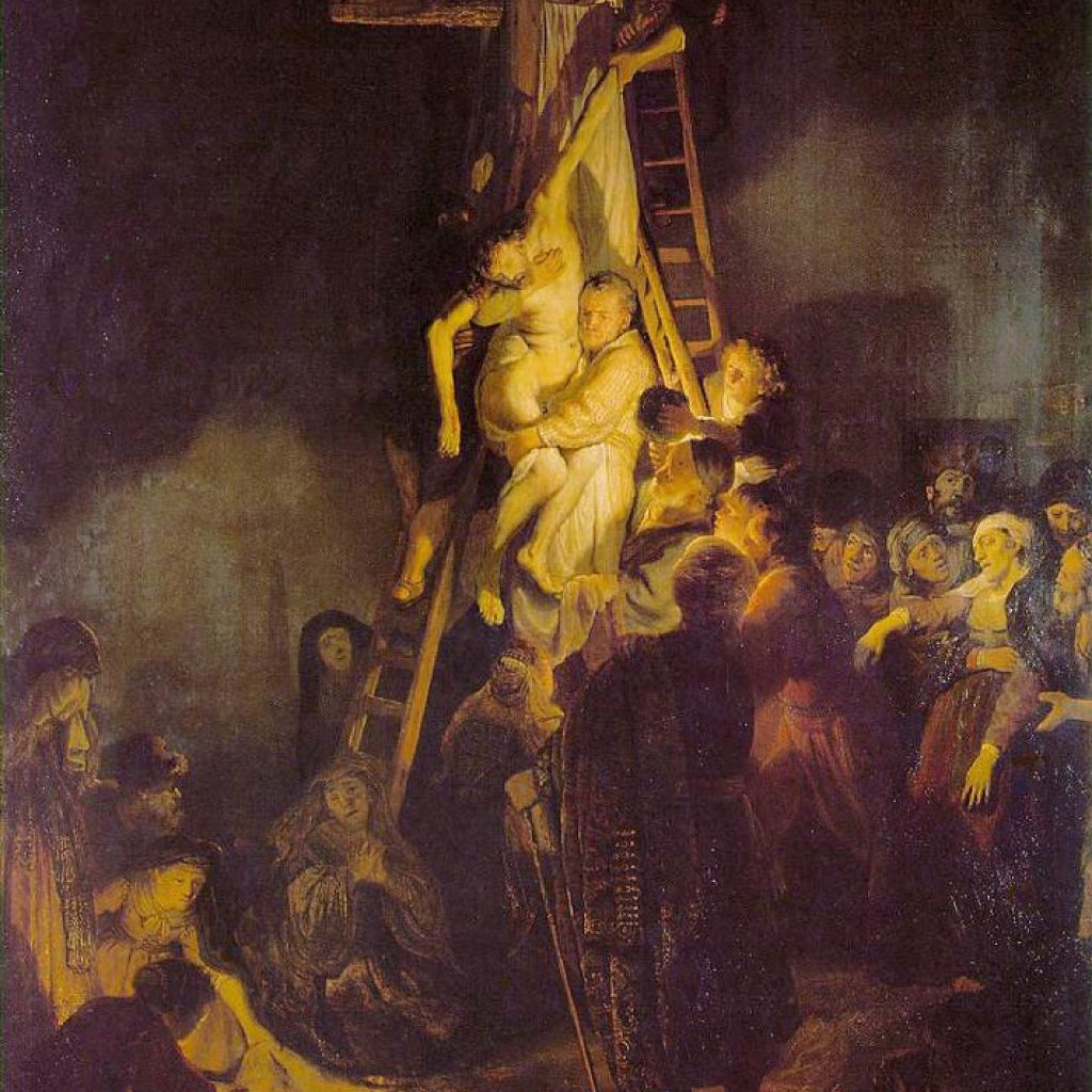 La descente de la croix - Rembrandt