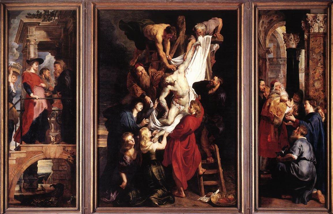La descente de la croix - Rubens