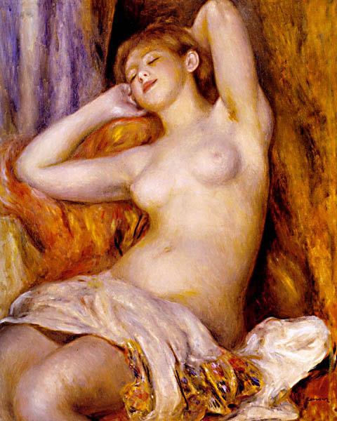 La dormeuse - Renoir