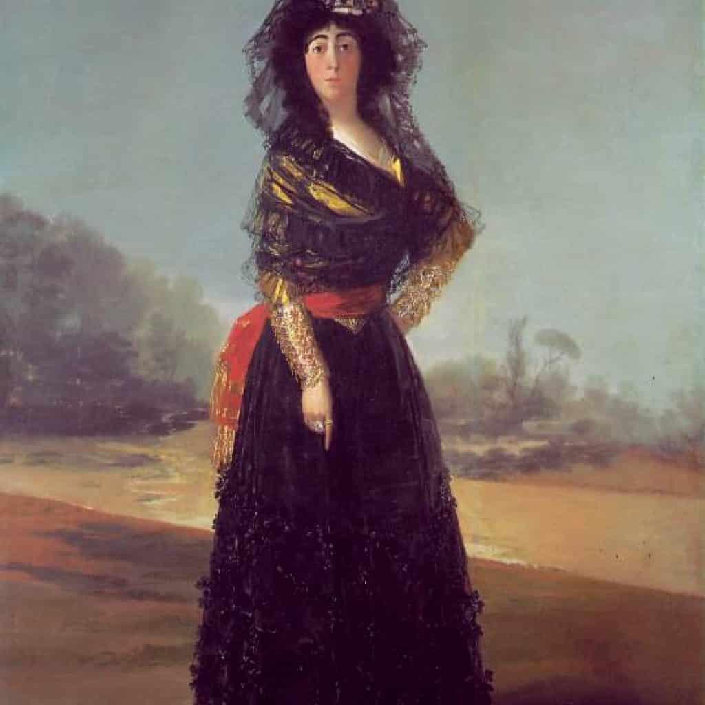 La duchesse d'Albe - Goya