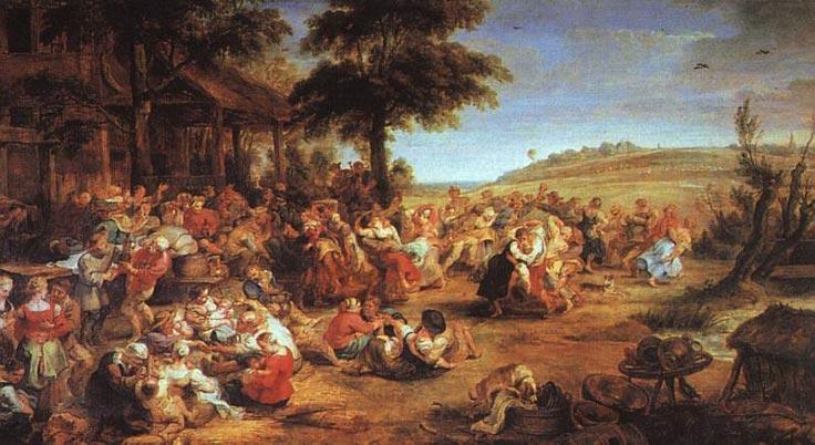 La fête des villageois - Rubens