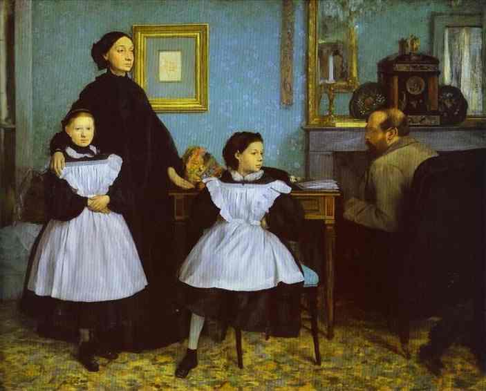 La famille Bellelli - Degas