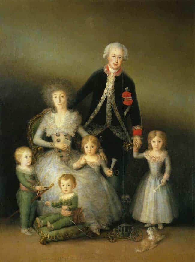 La famille du duc d'Osuna - Goya
