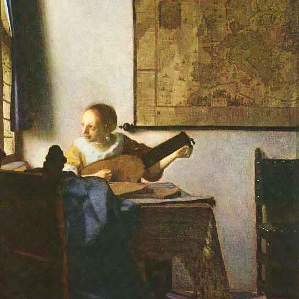 La femme au luth - Vermeer