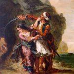 La fiancée d'Abydos - Delacroix