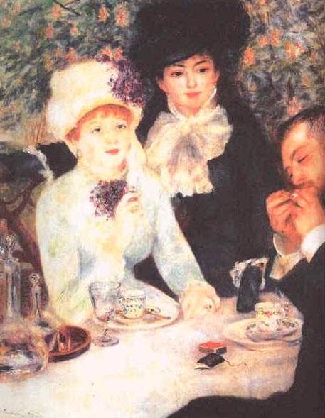 La fille du déjeuner - Renoir