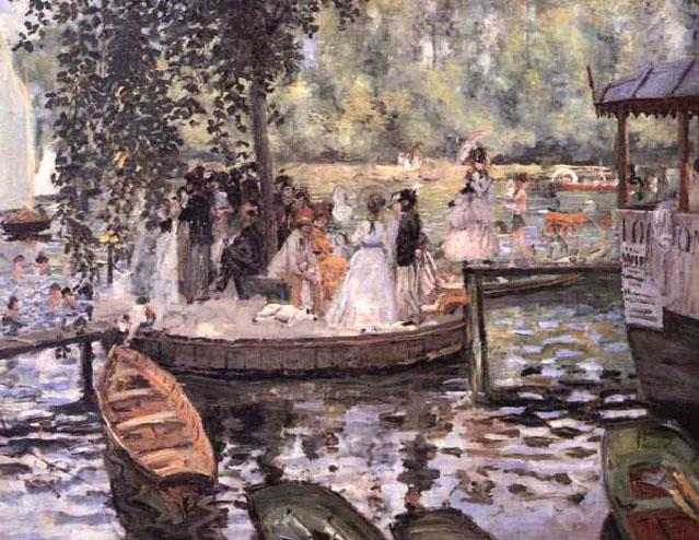 La grenouillère - Renoir