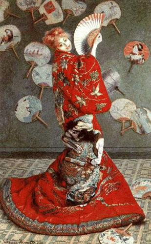 La japonaise - Monet