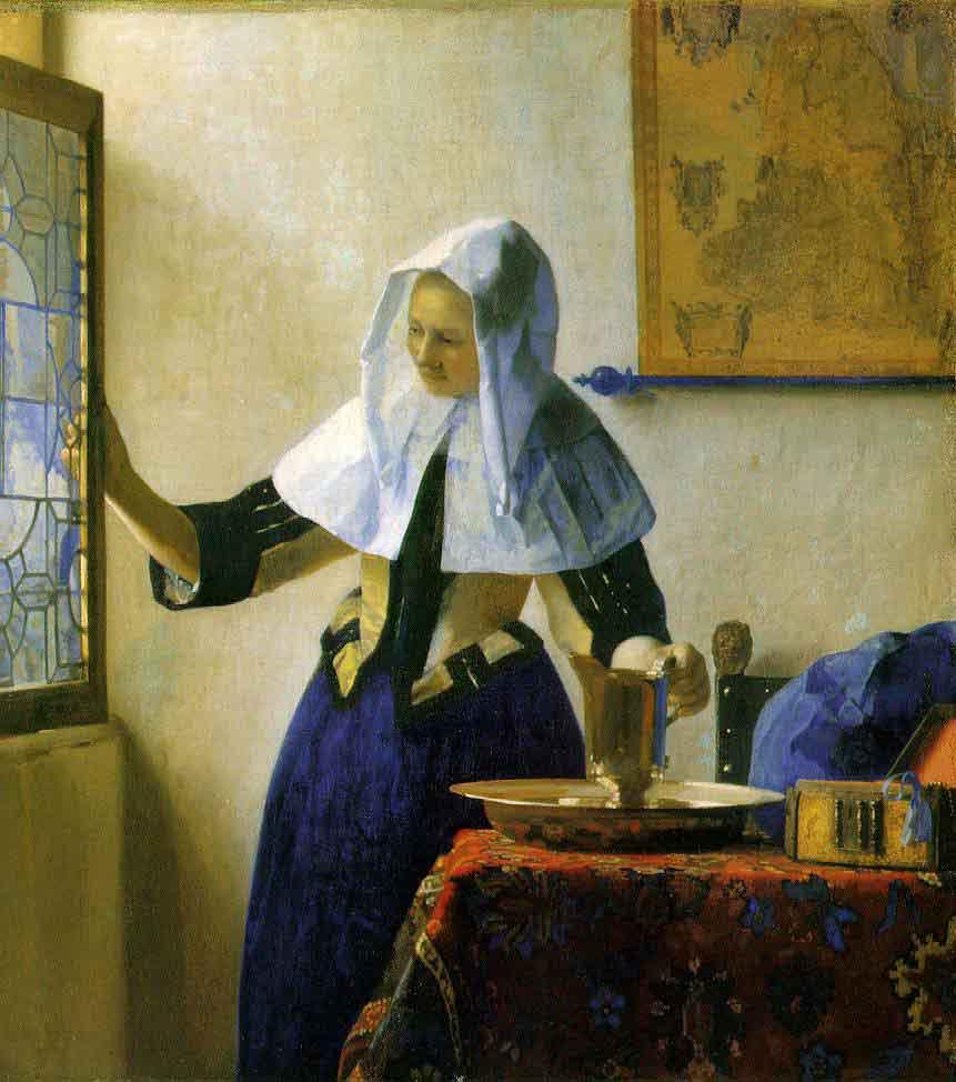 La jeune femme à l'aiguière - Vermeer