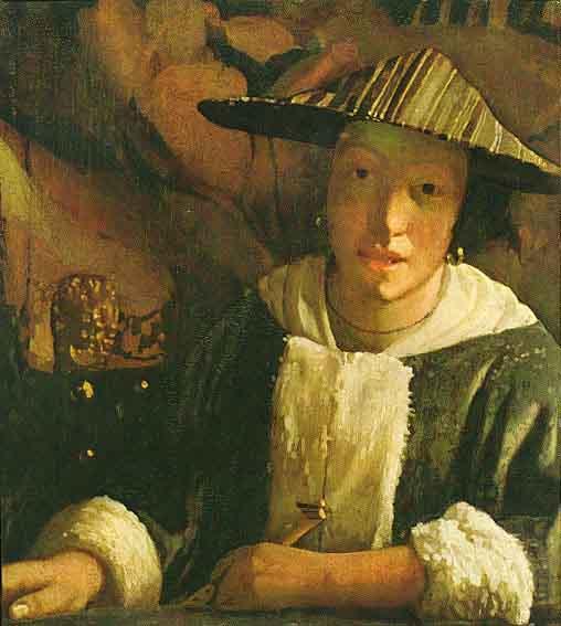 La jeune fille à la flûte - Vermeer