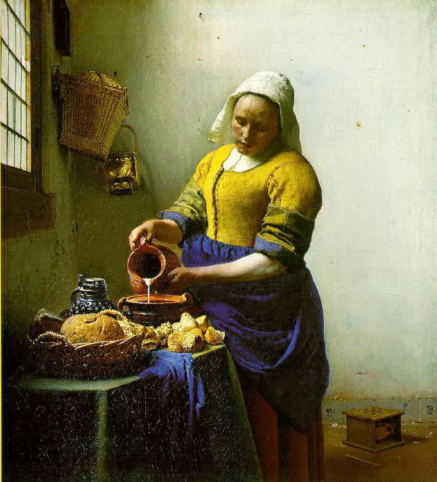 La laitière - Vermeer