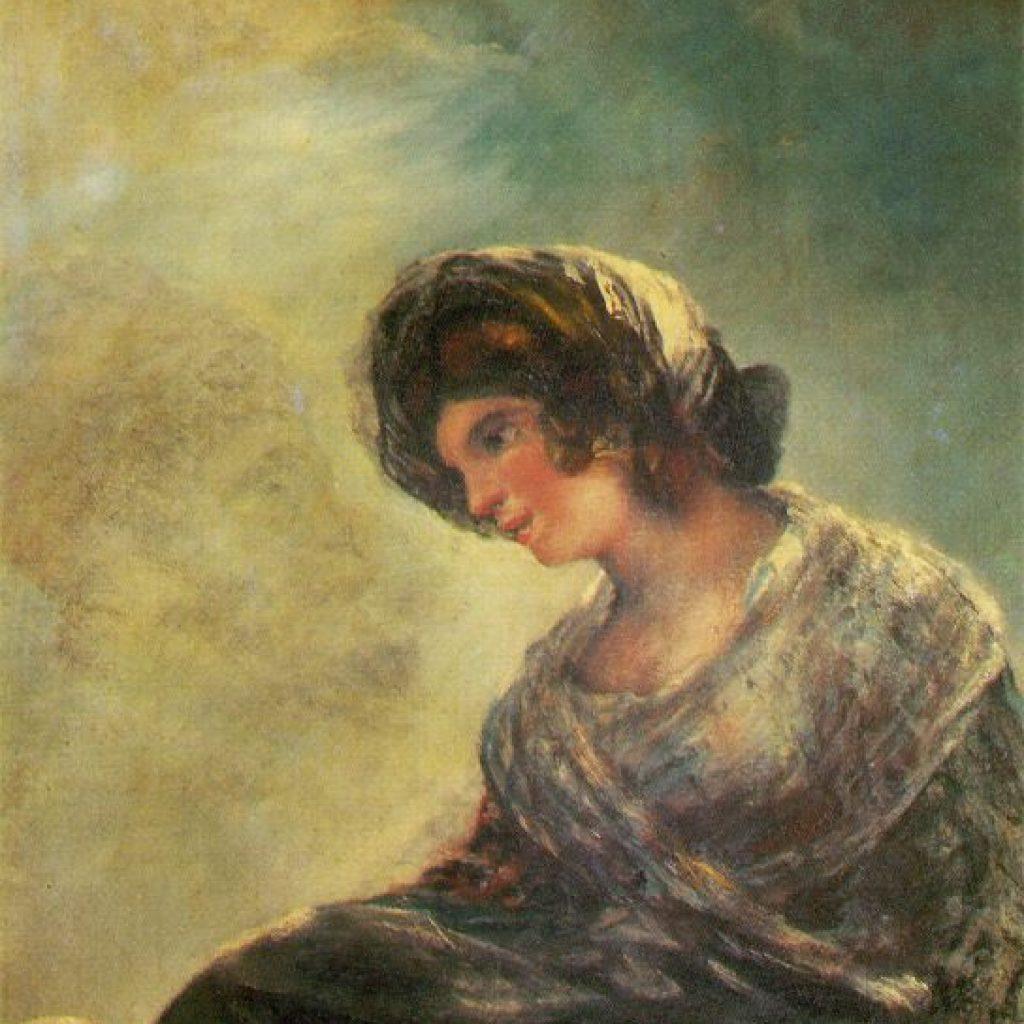 La laitière de Bordeaux - Goya