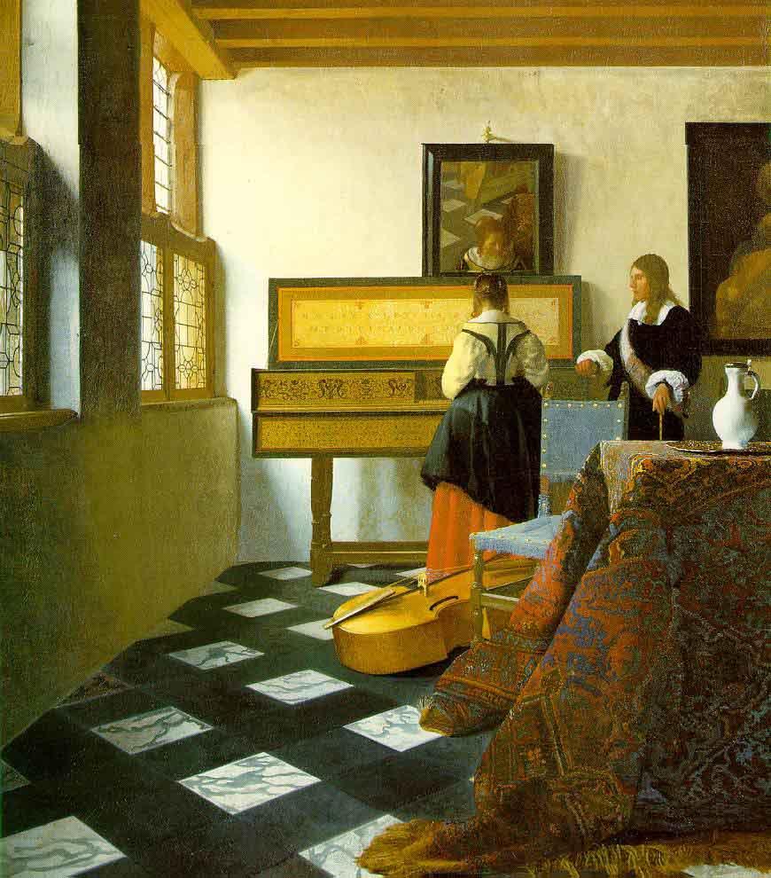 La leçon de musique - Vermeer