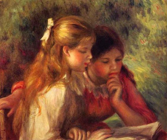 La lecture - Renoir