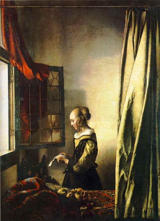 La liseuse à la fenêtre - Vermeer