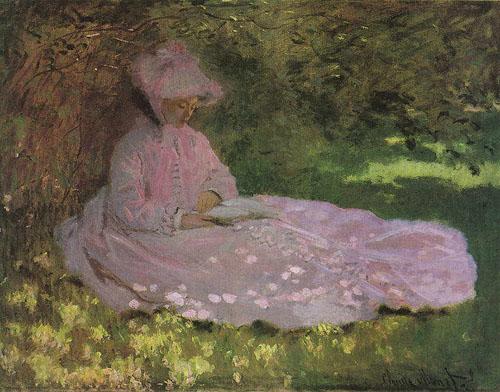 La liseuse - Monet
