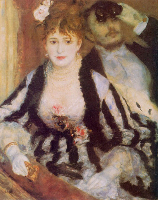 La loge - Renoir