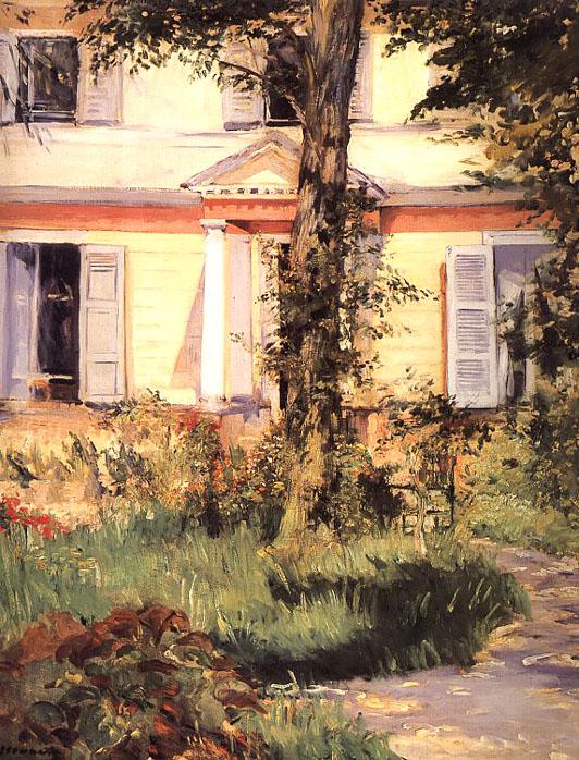 La maison à Rueil - Manet