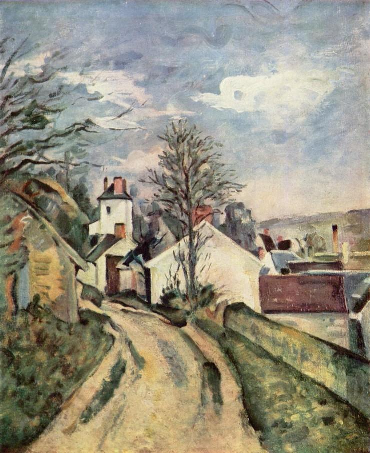 La maison du Dr Gachet - Cézanne