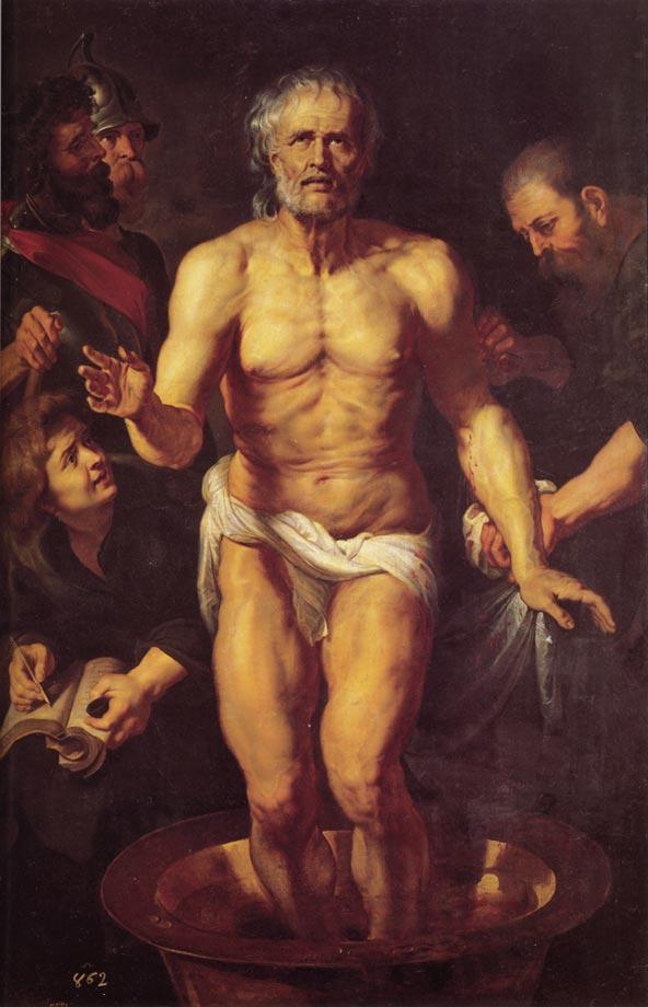 La mort de Sénèque - Rubens