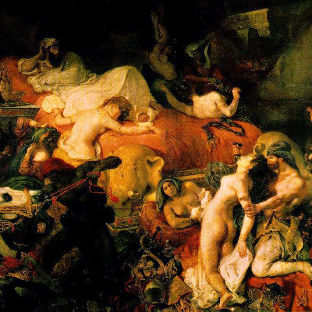 La mort de Sardanapal - Delacroix