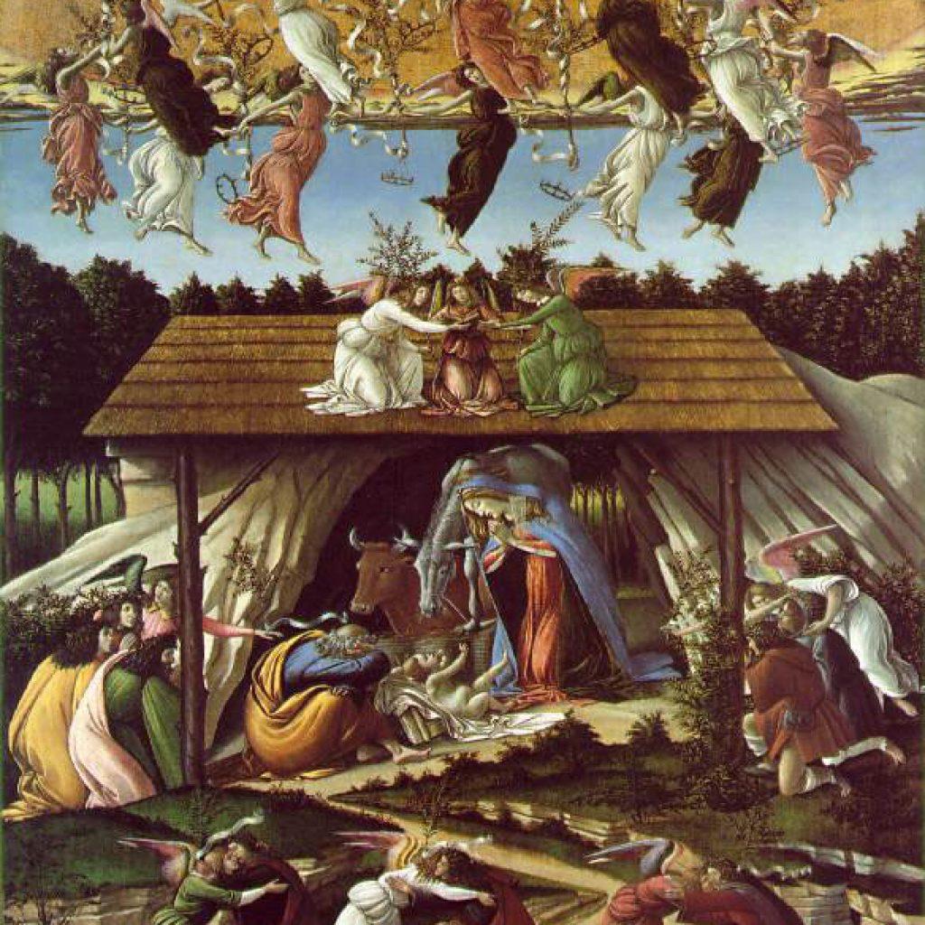 La nativité mystique - Botticelli