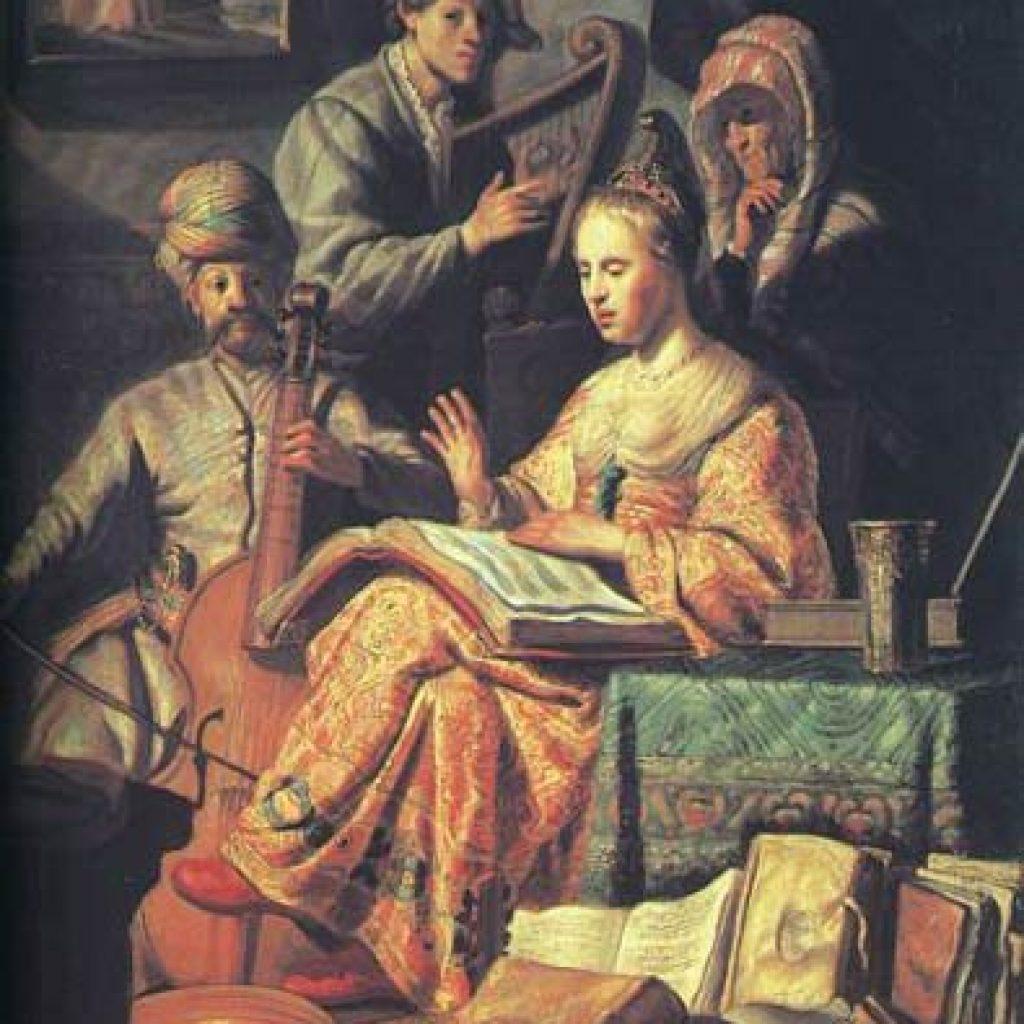 La partie de musique - Rembrandt