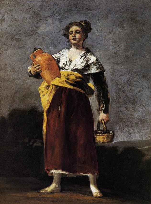 La porteuse d'eau - Goya
